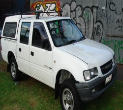 2002 HOLDEN RODEO  RODEO 2117